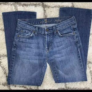 *Altered* 7 for All Mankind Bootcut Jeans